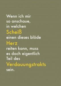 Postkarte_Herzscheiß